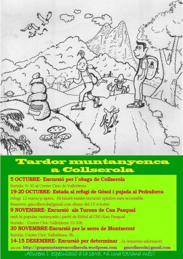 Programa d´activitats de la tardor 2013
